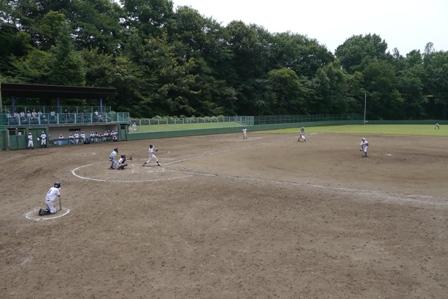 野球部が全国高等学校軟式野球選手権埼玉大会に出場しました